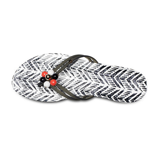 Crocs Womens Drew X Crocs Flip-Flops