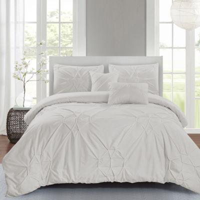 Wonder Home Starburst 5-pc. Cotton Comforter Set
