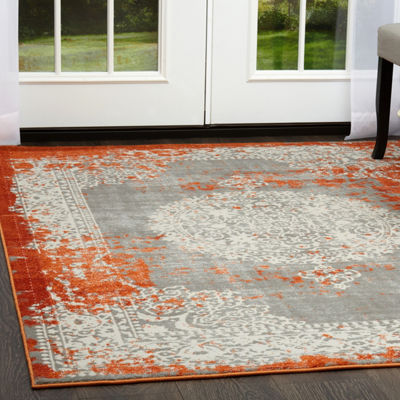 Home Dynamix Sunderland Teegan Medallion Rectangular Rug