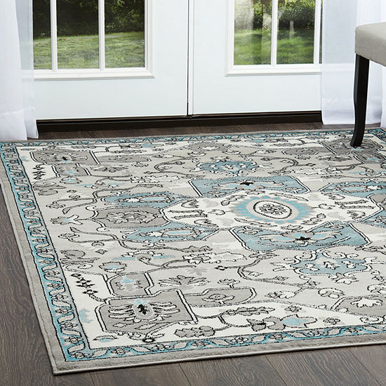 Home Dynamix Boho Devona Ikat Rectangular Area Rug