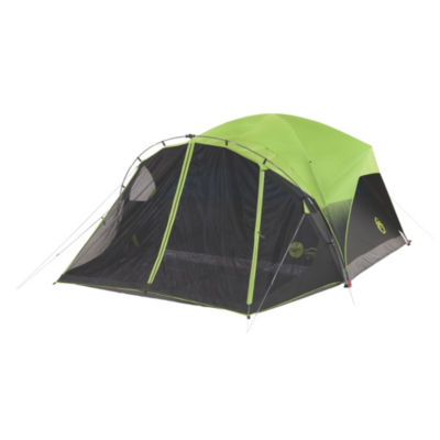 Coleman 6-Person Dark Room Dome Tent with Screen Room