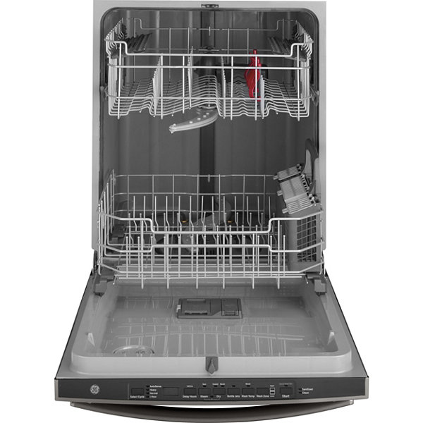 GE® ENERGY STAR® Dishwasher with Hidden Controls