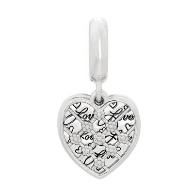 Ps Personal Style Sterling Silver Heart Charm