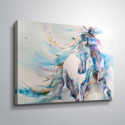 Horse 9 Gallery Wrapped Canvas
