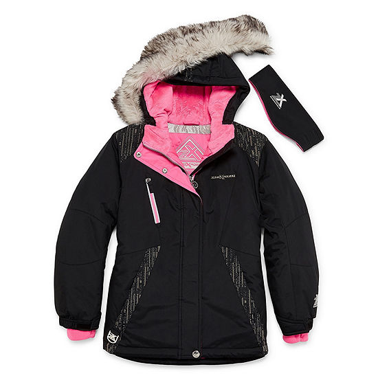 Zeroxposur Snowboard Heavyweight Ski Jacket - Girls 4-16