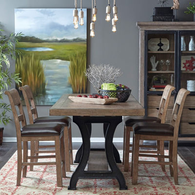 Flatbush Cast Metal Dining Table