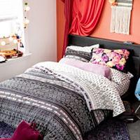 Home Expressions Culture Clash Stripes Complete Bedding Set Deals