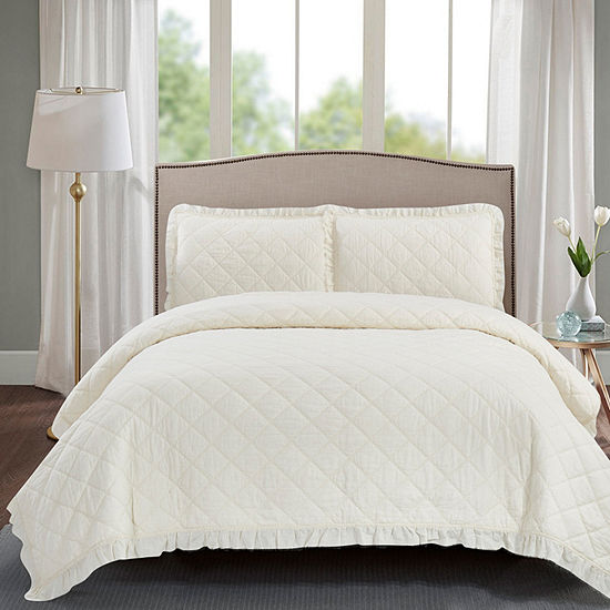 Wonder Home Neptune 3-pc. Cotton Quilt set