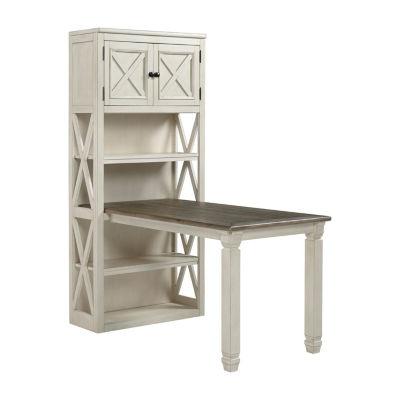 Signature Design by Ashley® Bolanburg Desk with Large Bookcase