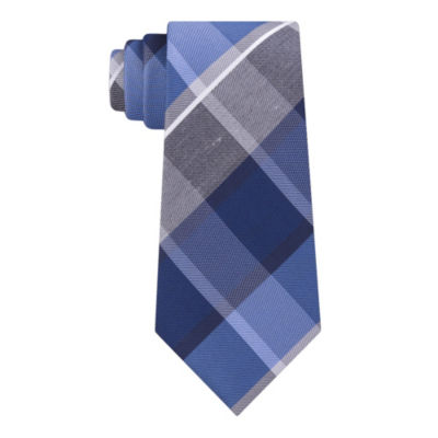 Geoffrey Beene Runway Plaid Tie