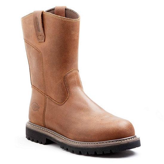 Dickies Mens Abbott Work Boots Flat Heel