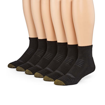 Gold Toe® 6-pk. Tech Quarter Socks