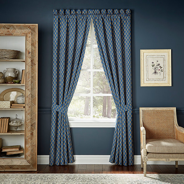 Croscill Classics Allyce Rod-Pocket Curtain Panel
