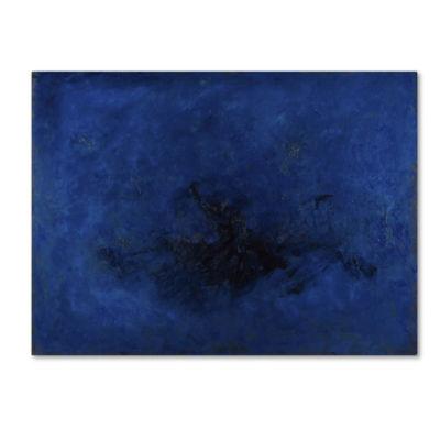 Trademark Fine Art Masters Fine Art Deep Blue Giclee Canvas Art