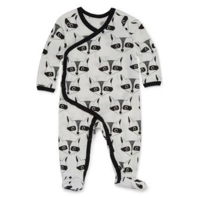 Okie Dokie Fox Long Sleeve Sleep and Play - Baby Boy NB-24M