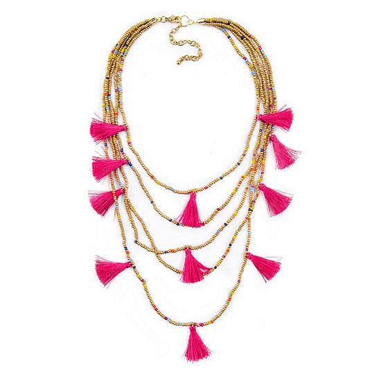 Arizona Womens 23 Inch Link Necklace