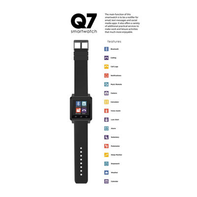 Q7 Limited Time Special! Black Smartwatch