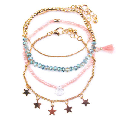 Arizona Womens 4-pc. Bracelet Set