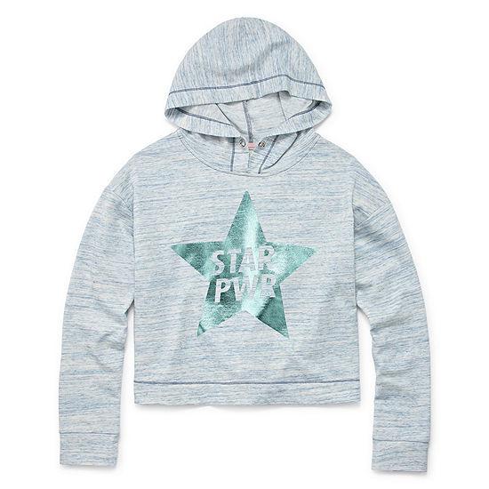 Xersion Cropped Sweatshirt Girls 4 16and Plus
