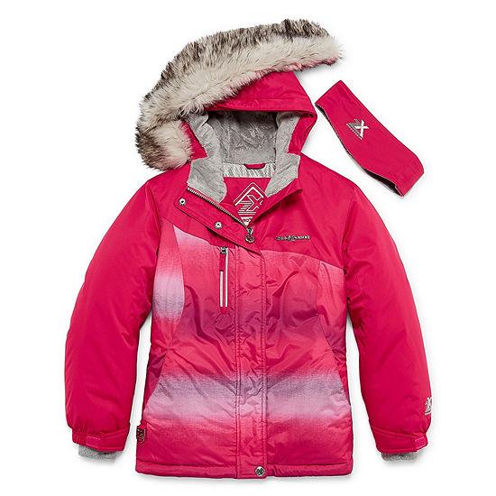 7e38856df3f Zero Xposure Snowboard Jacket-Girls 4-16 - JCPenney