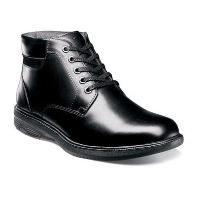 Nunn Bush Mens Memphis St. Lace Up Flat Heel Boots