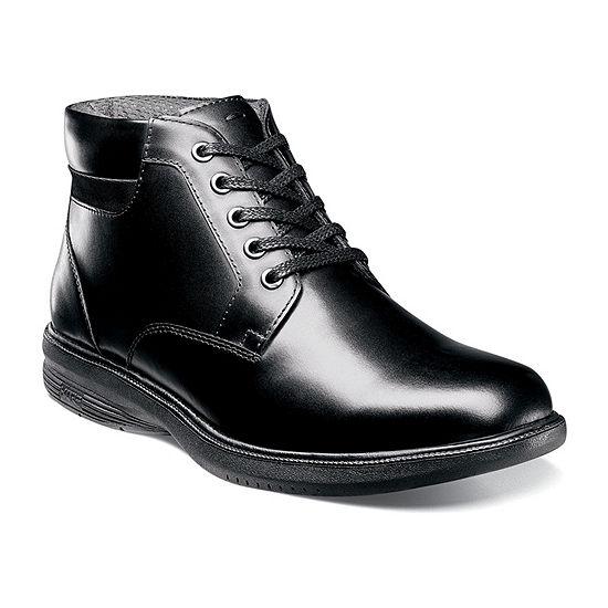 Nunn Bush Mens Memphis St. Lace Up Flat Heel Boots