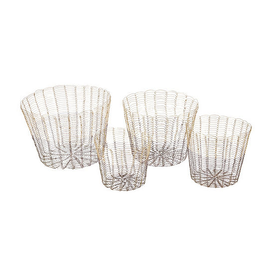 Madison Park Buono Basket Set Of 4
