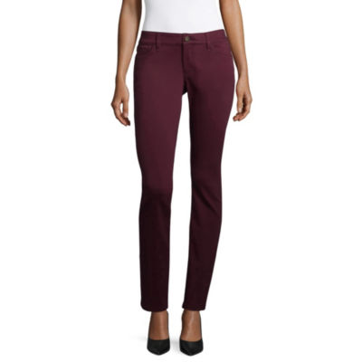 Liz Claiborne Womens Skinny Fit Jean