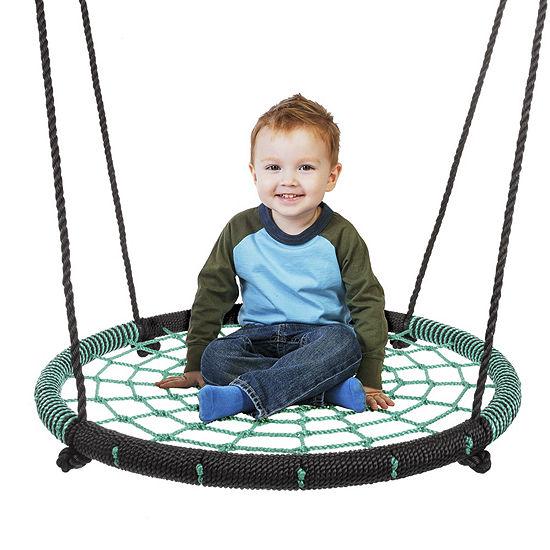 Hey Play Spider Web Tree Swing