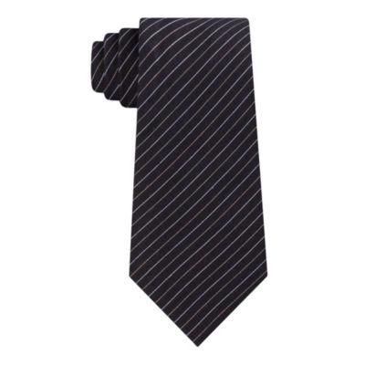 Geoffrey Beene Runway Pinstripe Tie