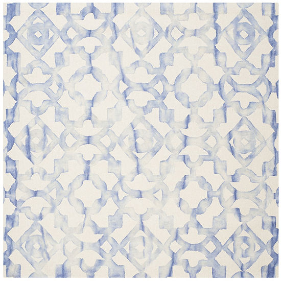 Safavieh Dip Dye Collection Joakim Geometric Square Area Rug