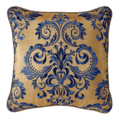 Croscill Classics Allyce 16x16 Square Throw Pillow