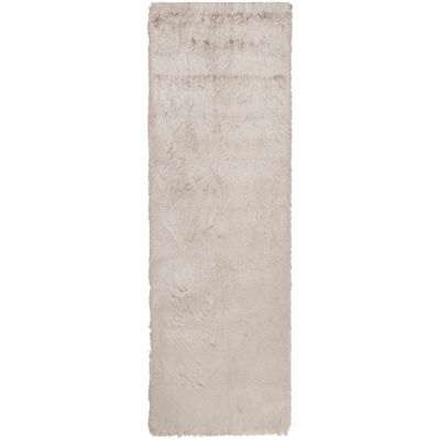 Safavieh Shag Collection Camille Solid Runner Rug