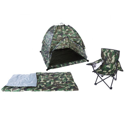 Pacific Play Tents Green Camo Set