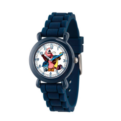 Disney Inside Out Boys Blue Strap Watch-Wds000600