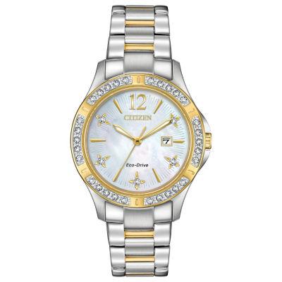 Citizen Womens Two Tone Bracelet Watch-Ew2514-59d