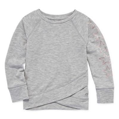 Xersion Long Sleeve Sweatshirt - Toddler Girls