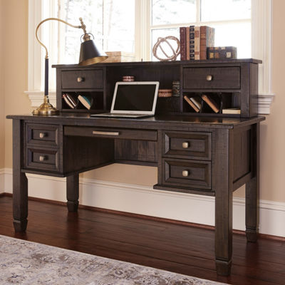 Signature Design by Ashley® Townser Home Office Desk with Hutch