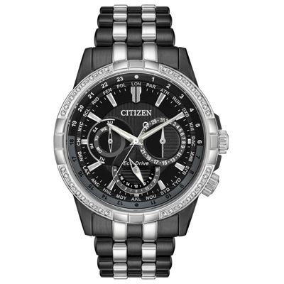 Citizen Mens Two Tone Bracelet Watch-Bu2088-50e