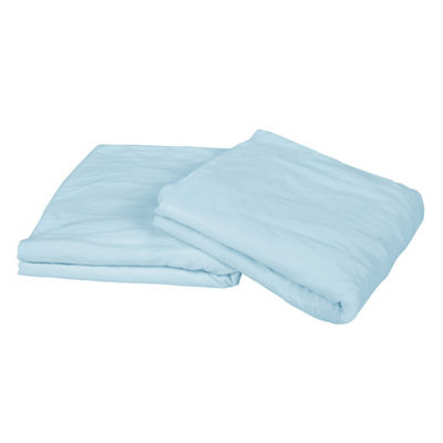 Exclusive Fabrics & Furnishing Knit Craze Cotton Jersey Set of 2 Crib Fitted Sheets