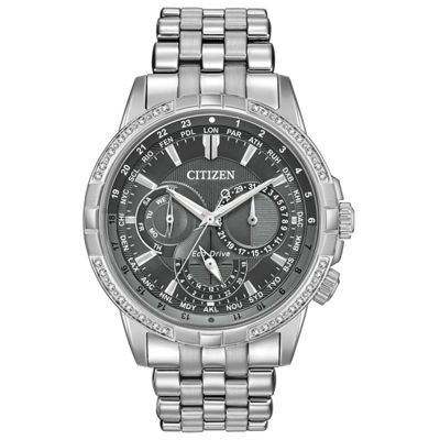 Citizen Mens Silver Tone Bracelet Watch-Bu2080-51h