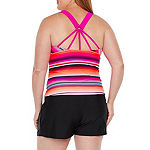 Zeroxposur Tankini Swimsuit Top Plus