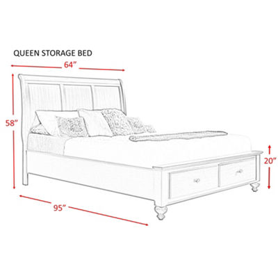 Picket House Furnishings Channing Storage 6-pc. Bedroom Set