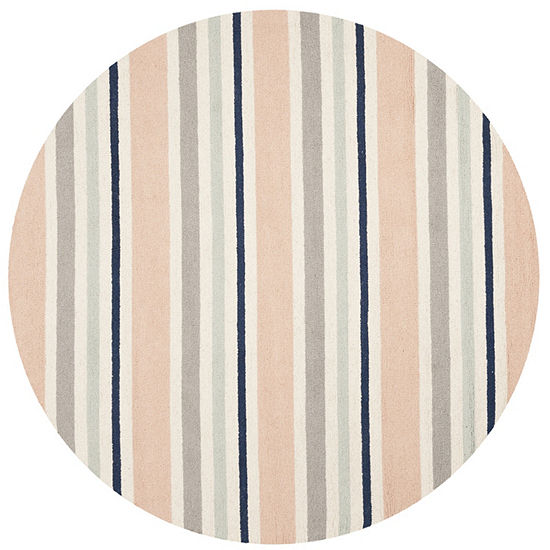 Safavieh Kids Collection Jocelyne Geometric Round Area Rug