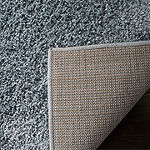 Safavieh New York Shag Collection Jayla Solid Square Area Rug