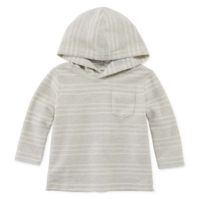 Okie Dokie Long Sleeve Hooded Henley - Baby Boy NB-24M
