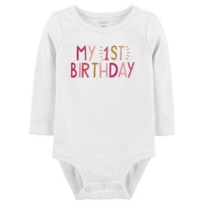 Carter's Birthday Bodysuit - Baby Girls
