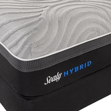 Sealy Hybrid Kelburn II - Mattress + Box Spring, One Size , White