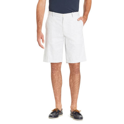 IZOD Mens Mid Rise Chino Shorts