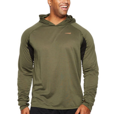 Copper Fit Mens Long Sleeve Hoodie-Big and Tall